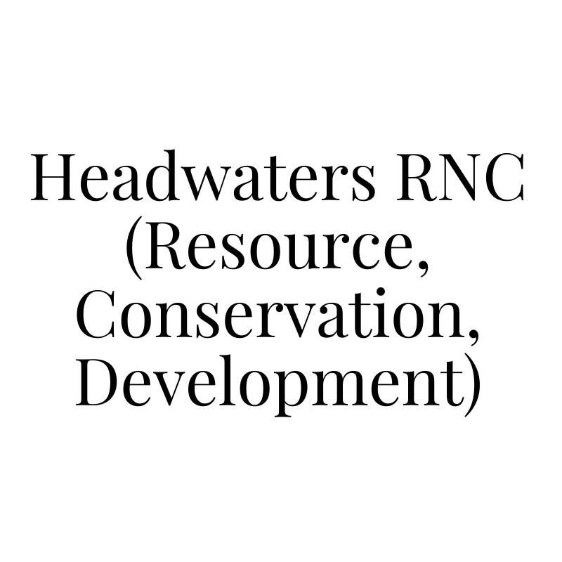 Headwaters RNC (Resource, Conservation, Development)